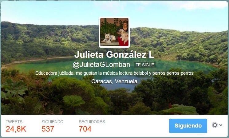 Twitter JulietaGLomban
