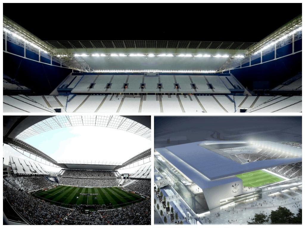Estadium Arena Corinthians, Brasil.