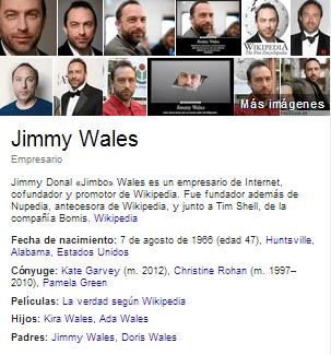 Creador de Wikipedia en el año 2001.