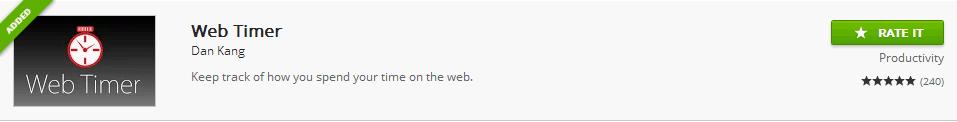Web_timer_google_chrome_extension