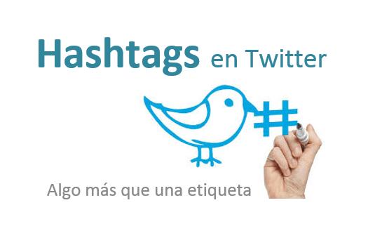 Los hashtags tienen mucha utilidad en todas las redes sociales. Fuente: propia