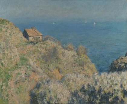 La_casa_del_pescador_Claude_Moment_1882