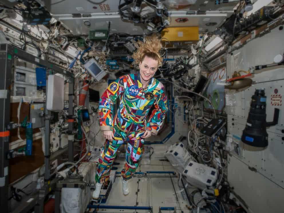 Traje de astronauta diseñado por niños con cáncer