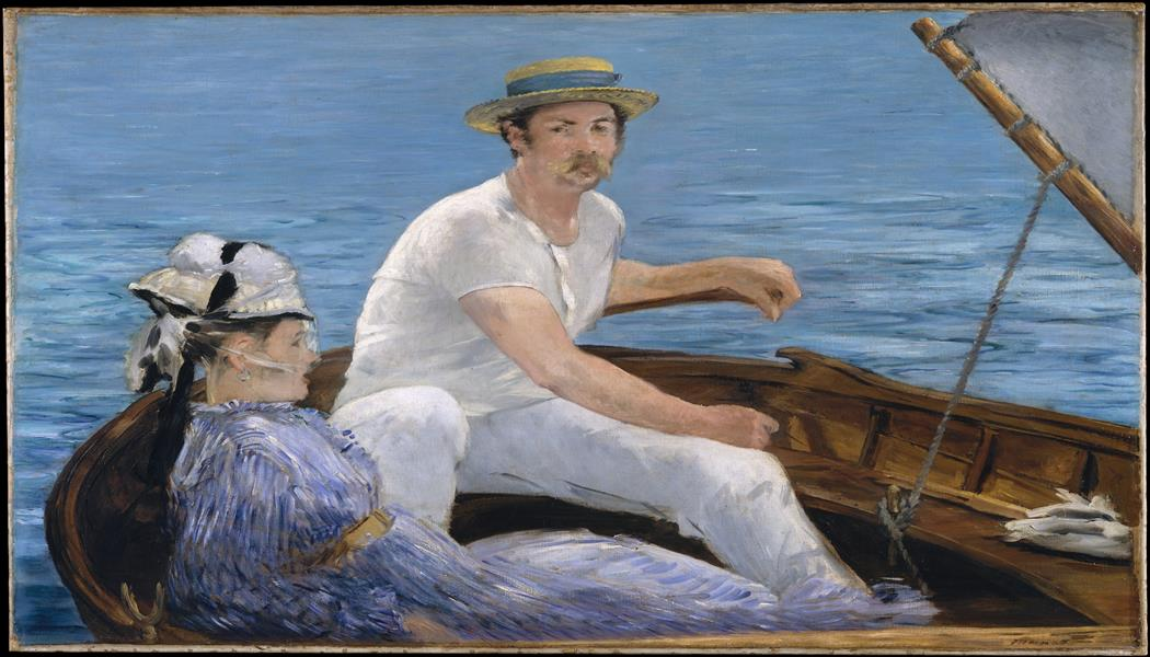 Paseando en Bote Manet 1050 x 600