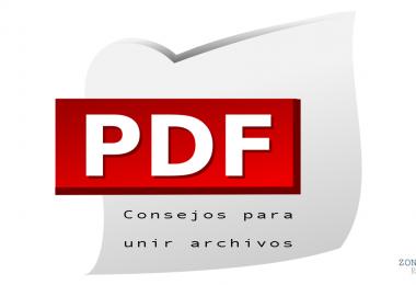 Consejos para unir archivos pdf