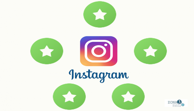 Nuevo feature favoritos en Instagram versión final