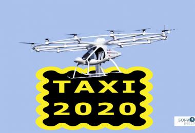 Taxi drones a la vuelta de la esquina
