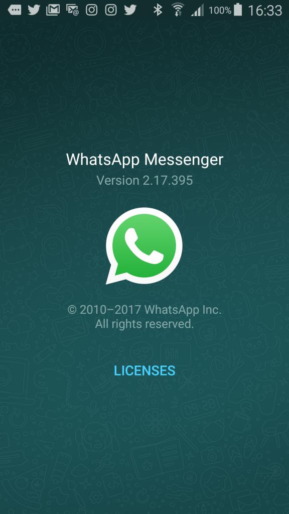 Versión WhatsApp