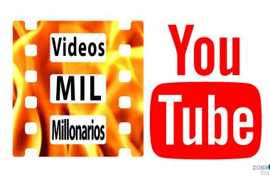 Videos YouTube mil millonarios